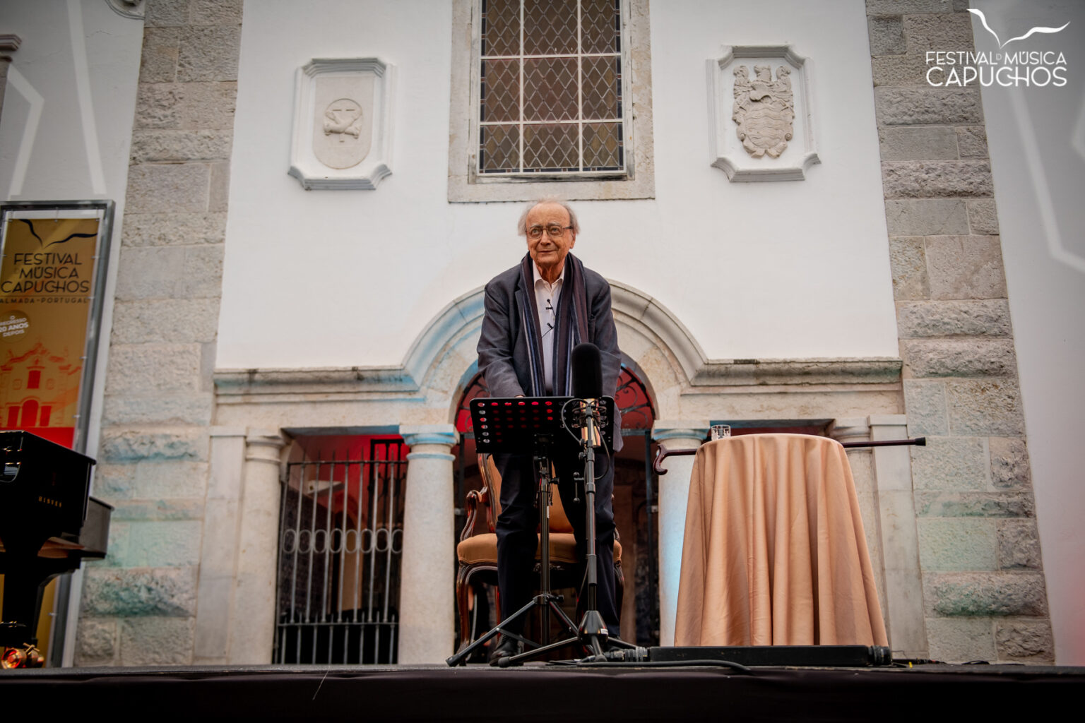 FESTIVAL DOS CAPUCHOS - HOMENAGEM A ALFRED BRENDEL - Conferência com Alfred Brendel