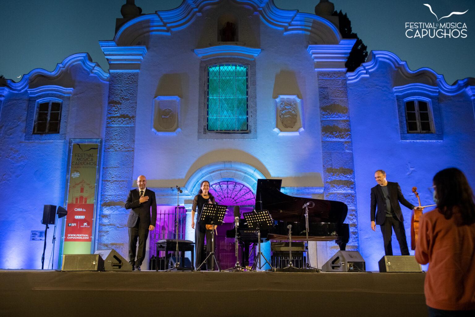 FESTIVAL DOS CAPUCHOS - SCHUBERTÍADA 2 - Viviane Hagner - violino, Adrian Brendel - violoncelo, Filipe Pinto-Ribeiro - piano